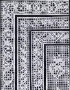 1900s Filet Crochet Cross Stitch Beadwork Patterns   Cora Kirchmaier   Meylah