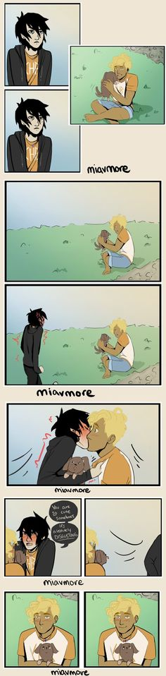 Solangelo | art by miavmore