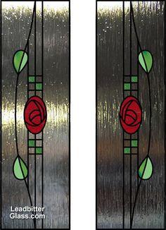 MACKINTOSH Charles Rennie - English (1868-1928) - Split glazed door design