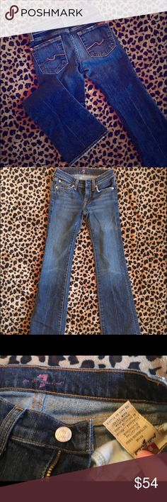 7 for all mankind girls size 8 bootcut jeans 7 for all mankind girls size 8 Bootcut jeans. Super cute:) 7 For All Mankind Bottoms Jeans