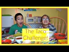 The Taco Challenge with Old El Paso taco boats | #KidsInTheKitchen | MamaKatTV #Sponsored