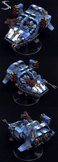 The Internet's largest gallery of painted miniatures, with a large repository of how-to articles on miniature painting Warhammer Figures, Warhammer Paint, Warhammer Models, Warhammer 40k Miniatures, Total Warhammer, Warhammer 40000, Miniaturas Warhammer 40k, Space Wolves, Fantasy Miniatures
