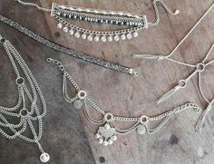 Beaded Chocker, Beaded Jewelry, Collar Diy, Jewelry Accessories, Jewelry Design, Braided Necklace, Hippie Boho, Bohemian, Jewelry Crafts