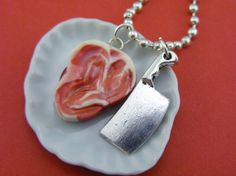 The Butcher's Necklace by shayaaron on Etsy