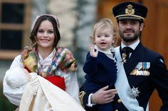 Princess Sofia and Prince Carl Philip Were All Smiles (and a Few Tears) For Prince Gabriel's Christening