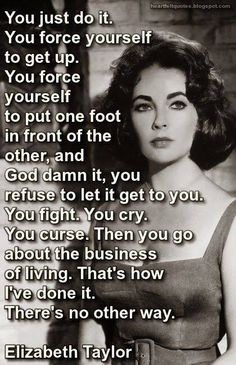 I learned this from my mother - and Liz shares it well.