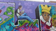 East Harlem's Graffiti Hall of Fame Gets New Work by Tats Cru