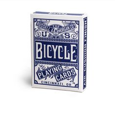 Bicycle Chainless U.S. Playing Cards 2015, red and blue editions, based on set #18. Target stores exclusive.