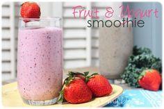 Fruit And Yogurt Smoothie