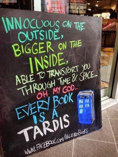 It makes sense!   #DoctorWho #Books