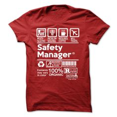 Awesome Tee for Safety Manager T Shirt, Hoodie, Sweatshirt