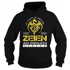 Awesome Tee ZEIEN An Endless Legend (Dragon) - Last Name, Surname T-Shirt Shirts & Tees
