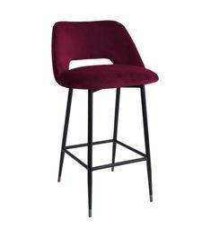 Shop Milan Bar Stool Marsala at Interiors Online. Exclusive High End Furniture.
