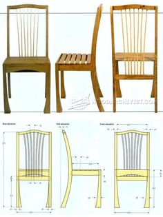 Frame Chair Plans - Furniture Plans and Projects | WoodArchivist.com
