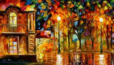 Where You Loving Me — PALETTE KNIFE Oil Painting On Canvas By AfremovArtStudio. Official Shop: https://www.etsy.com/shop/AfremovArtStudio