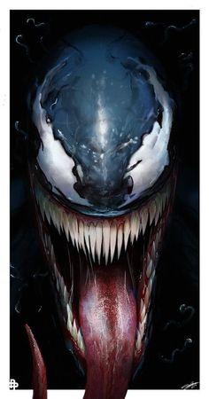 Top 10 Hosts of the Venom Symbiote. Read through a list of characters that have bonded with Venom! Venom Comics, Marvel Venom, Marvel Art, Marvel Dc Comics, Marvel Heroes, Comic Book Characters, Marvel Characters, Comic Character, Marvel Villains