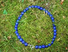 Simply Lapis Lazuli Necklace With 10 mm Beads 2995 door EASTERNSOULS