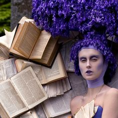 Archival pigment print 140 x edition of 5 120 x edition of 5 100 x edition of … Kirsty Mitchell, Rococo Fashion, Book Flowers, Dark Lips, Through The Looking Glass, Work Inspiration, Artistic Photography, Bridal Looks, Vintage Dolls