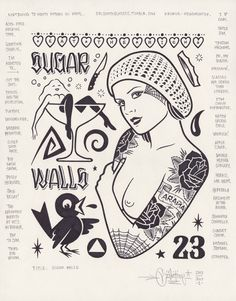 """Sugar Walls"", 11x14″"