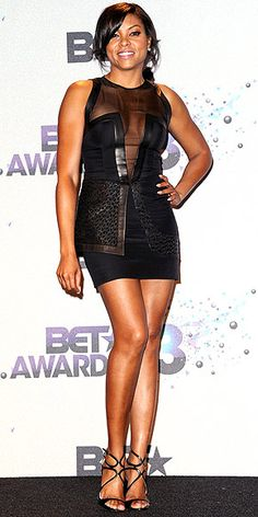 Taraji P. Henson in Izmaylova Kevin Costner, Taraji P Henson, Black Actresses, Rihanna Style, Celebs, Celebrities, Karen Millen, Woman Crush, Beautiful Black Women