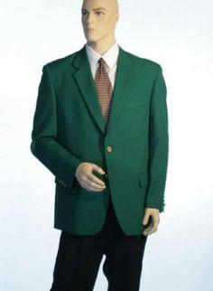 Augusta Verde antiguos botones de la cresta de latón hombros Blazer Naturales (hombres + mujeres) 189 dólares