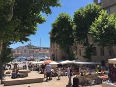 Marseille street stalls