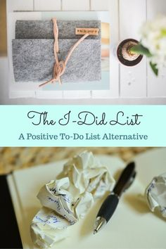 A To-Do list alternative that will help you see and feel your accomplishment Fall Fashion Colors, Helpful Hints, Handy Tips, Natural Solutions, Happy Family, Giving, Getting Organized, Healthy Choices, Alternative