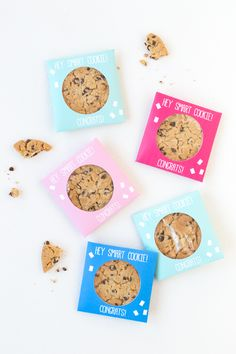 DIY Smart Cookie Graduation Party Favors
