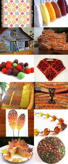 Autumn Shades by Jennifer Taylor on Etsy--Pinned with TreasuryPin.com