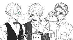Handsome Boys, Crossover, Nerdy, Anime Art, Geek Stuff, Fan Art, Manga, Cute, Otaku