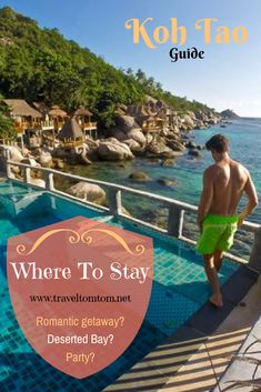 Find the best places to stay in Koh Tao. The island is small, but dont end up on the wrong side of the island. Click here to read where to stay in Koh Tao for a romantic getaway, close to the beach parties or in a deserted bay.