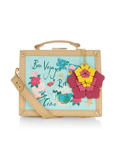 Riviera Suitcase Across Body Bag