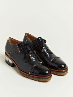 857b57d1fac9 Dries Van Noten Women s Horn Detail Oxford Shoes Women Oxford Shoes