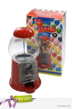 Spiel, Spaß und Naschen in einem! #danato #bubblegum #automat #süßigkeiten