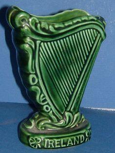 1950s Ceramic Irish Harp made by SylvaC by BiminiCricket on Etsy, $45.00