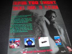 Too $hort Billboard Magazine AD