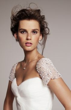 gomaisa5:  Sparkly sleeves on 'Laurel' from Roses by Reem Acra no We Heart It. http://weheartit.com/entry/83249704/via/Maisa5