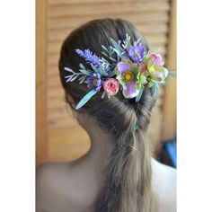 Floral comb Purple lavander anemone comb Bridal Flower headpiece Wedding flower comb Silk flower back hair dress Floral hair accessory Flower Headpiece Wedding, Flower Crown Wedding, Floral Headpiece, Wedding Hair Flowers, Bridal Flowers, Bridal Comb, Bridal Hair, Flower Hair Accessories, Dress Hairstyles