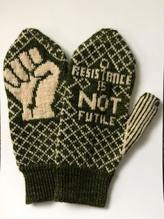 Ravelry: Peace de Resistance Mittens pattern by Bristol Ivy