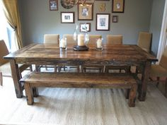Nice How To Make A DIY Farmhouse Dining Room Table: Restoration Hardware Knockoff