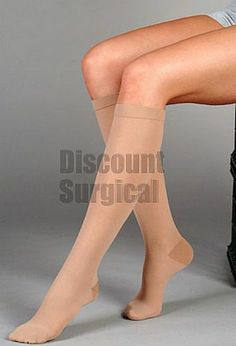db69340603 Juzo Basic 4411AD - Knee High 20-30mmHg. Sheer knit, highly elastic heel  and toe that is durable and comfortable. Latex free and breathable.