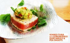 Ginger Jar Food is a boutique catering company based in London, working on a whole range of events from corporate contracts to private dinner parties. Seared Tuna, Food Menu Design, Ginger Jars, Canapes, Lemon Grass, Fine Dining, Street Food, Avocado Toast, Guacamole
