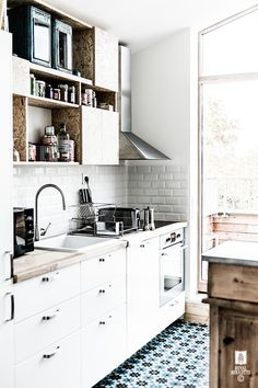 I love discovering a space that offers something a little bit different - especially in the kitchen, don't you? French pair Bertille and Li...