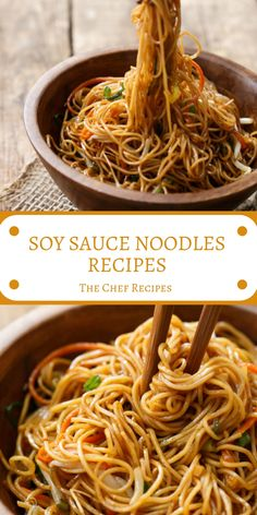 Healthy chinese food SOY SAUCE NOODLES RECIPES Technically, these are pretty adjacent to what you'd tell chow mein. Not to be puddingheaded with lo mein, which are commonly thicker noodles and tossed with sauce kinda than pan-fried. Healthy Chinese Recipes, Asian Noodle Recipes, Authentic Chinese Recipes, Asian Recipes, Vegetarian Recipes, Cooking Recipes, Healthy Recipes, Easy Rice Noodle Recipes, Ethnic Recipes