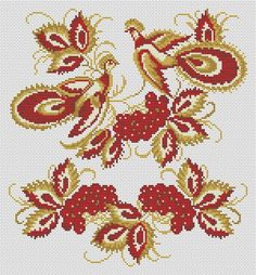 Жар-птица, схемы для вышивки бисером и крестиком. Обсуждение на LiveInternet - Российский Сервис Онлайн-Дневников