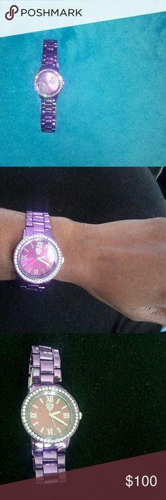 d8b676c7361 Picard Cie Boudica Ladies Purple Watch Like new Picard Cie Boudica Ladies  Purple Watch features reinforced
