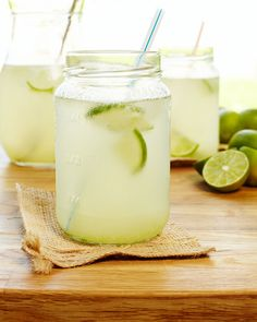 LIMEADE (also good with a splash of vodka!):