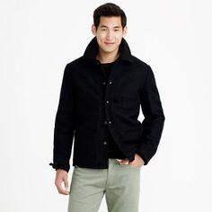 J.Crew - Skiff jacket with sherpa lining