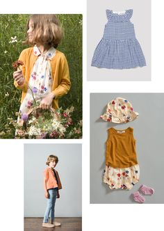A summer edit featuring our Vintage Daisy print. Perfect for summer time and outdoor adventures. Our vintage-inspired Sese dress is a key piece for the season for girl, while clean tailoring is used to create a short sleeve boxy shape cut seen in our Tobago shirt.  All pieces are online in the Caramel sale!