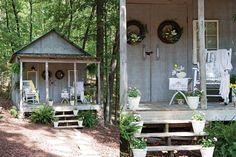 Garden Porch Styling
